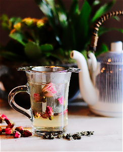 Foto Rose oolong tea