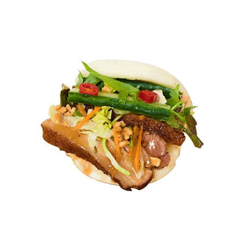 Foto Steamed bao Taiwanese braised pork